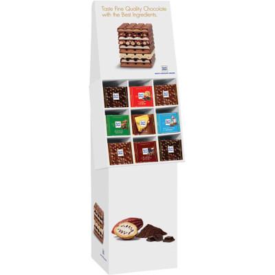 Ritter Top Flavors Chocolate Bar Floor Shipper