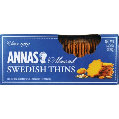 Annas Cookie Thin Almond Cinnamon Box