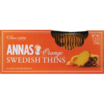Annas Cookie Thin Orange Box