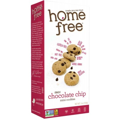 Home Free Gluten Free Chocolate Chip Mini Cookies