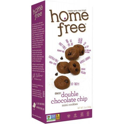 Home Free Gluten Free Double Chocolate Mini Cookies