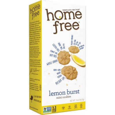 Home Free Gluten Free Lemon Burst Cookies