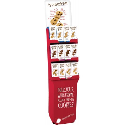Home Free Gluten Free 3 Flavor Asst Floor Display