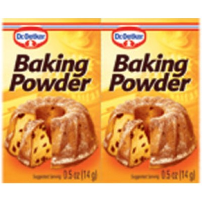 Dr Oetker Baking Powder Packets .5 oz ea (6pk)