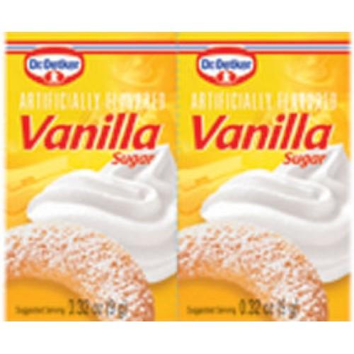 Dr Oetker Vanilla Sugar .32 oz ea (6pk)