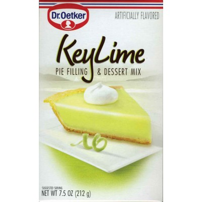 Dr Oetker Key Lime Pie Filling Dessert Mix