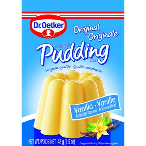 Dr Oetker Vanilla Pudding 1.5 oz ea (3pk)