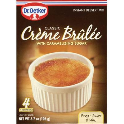 Dr Oetker Creme Brulee Dessert Mix
