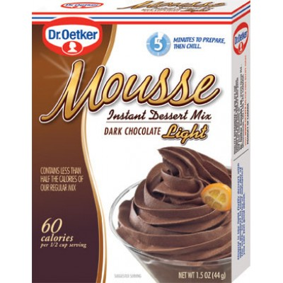 Dr Oetker Dark Chocolate Light Mousse