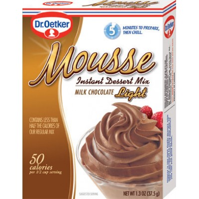 Dr Oetker Milk Chocolate Light Mousee
