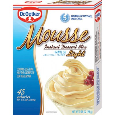 Dr Oetker French Vanilla Light Mousse