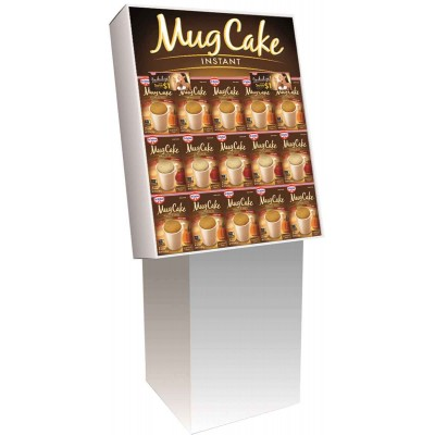 Dr. Oetker Apple Spice & Pumpkin Mug Cake Display