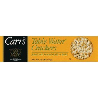 Carrs Garlic & Herb Table Water Crackers