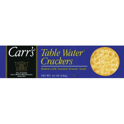 Carrs Table Water with Sesame Crackers