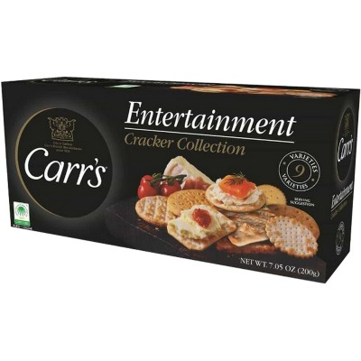 Carrs Entertainment Cracker Selection