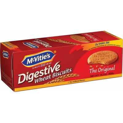 McVities Digestive Large Cookie Box