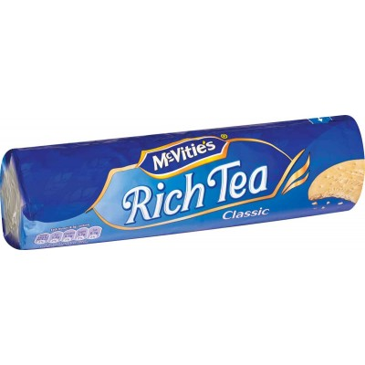 McVities Digestive Rich Tea Classic Cookie