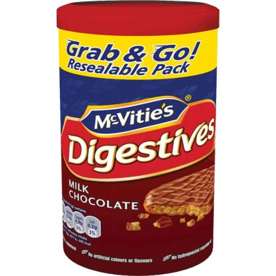 McVities Digestive Milk Chocolate Cookie
