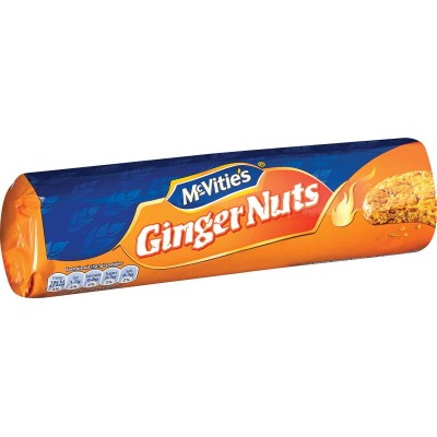 McVities Digestive Ginger Nuts Cookie Roll