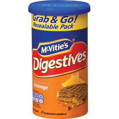 McVities Digestive Milk Chocolate Orange Cookie