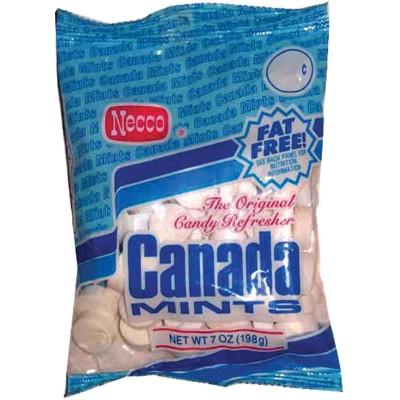 Necco Canada White Peppermint Lozenge