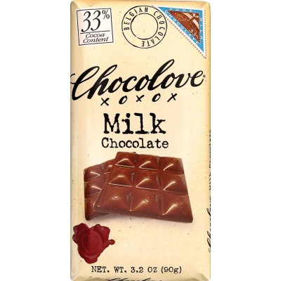 Chocolove Pure Milk Chocolate Bar