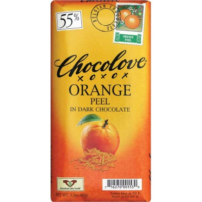 Chocolove Dark Chocolate with Orange Peel Bar