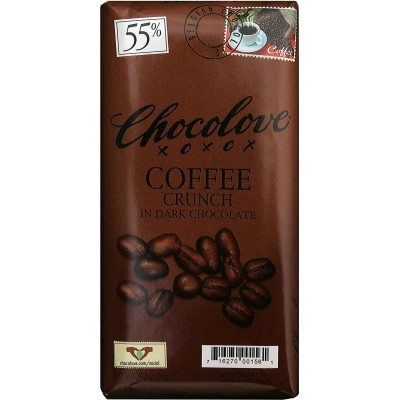 Chocolove Dark Chocoloate Coffee Crunch Bar