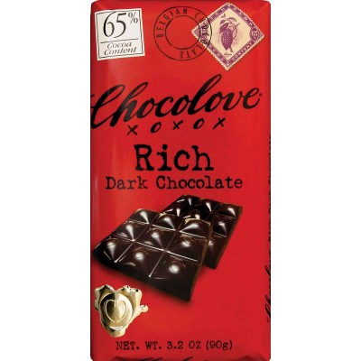 Chocolove Rich Dark Chocolate 65% Cocoa Bar