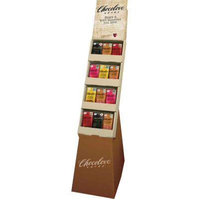 Chocolove 5 Flavor Assorted Chocolate Bar Display