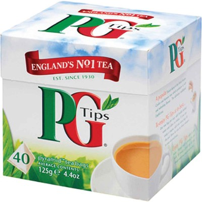 PG Tips Black Pyramid Tea 40 ct