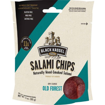 Black Kassel Old Forest Salami Chips