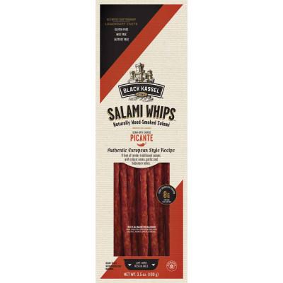 Black Kassel Picante Salami Whips