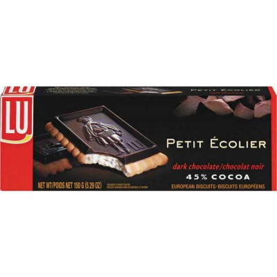 Lu Le Petit Ecolier Dark Chocolate Cookie Box