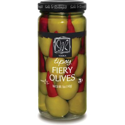 Sable & Rosenfeld Vokda Tipsy Fiery Olives