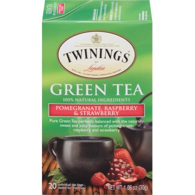 Twinings of London Pomegranate, Raspberry, and Strawberry Green Tea