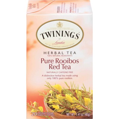 Twinings of London African Rooibos (Red Bush) Herbal Tea