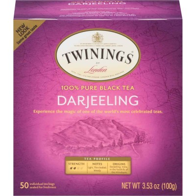 Twinings of London Darjeering Origins Tea 50 CT Box