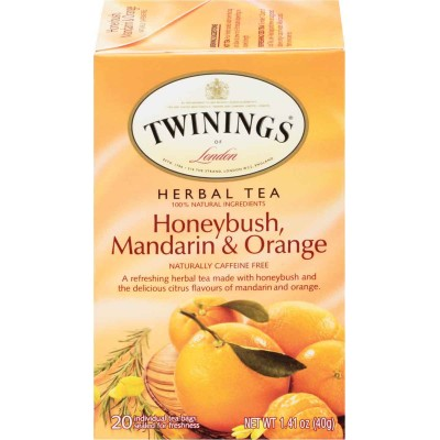 Twinings of London Honeybush Mandarian Orange Herbal Tea