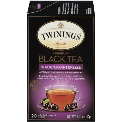 Twinings of London Blackcurrant Breeze Flavoured Tea