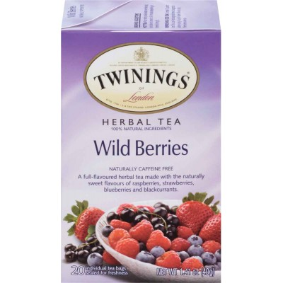 Twinings of London Wild Berries Herbal Tea