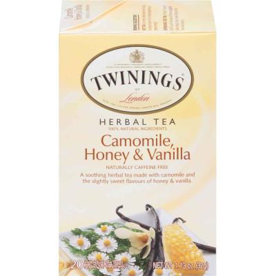 Twinings of London Camomile, Honey, and Vanilla Herbal Tea