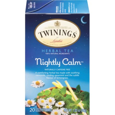 Twinings of London Nightly Calm Herbal Tea