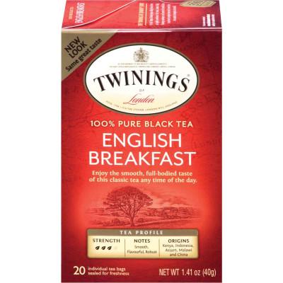 Twinings of London English Breakfast Classic Tea