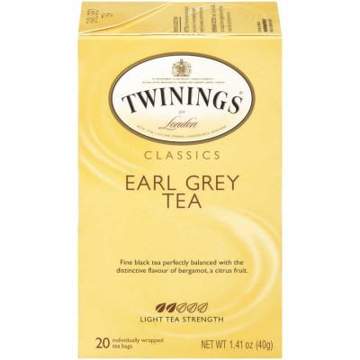 Twinings of London Earl Grey Classic Tea