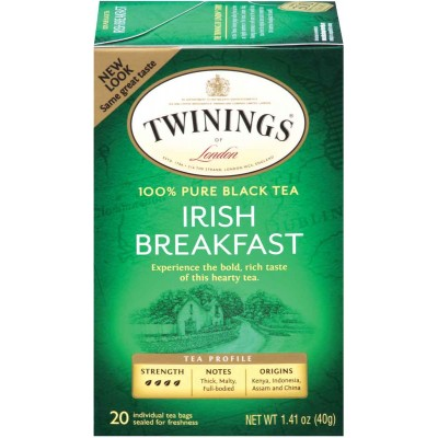 Twinings of London Irish Breakfast Classic Tea