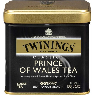 Twinings of London Loose Prince of Wales Tea Tin