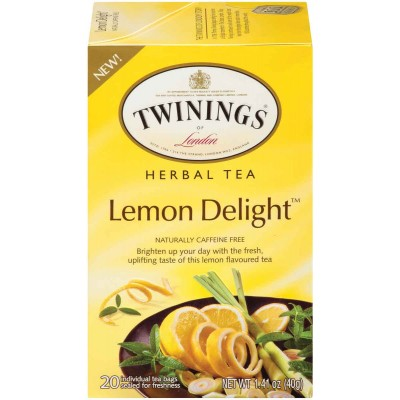 Twinings of London Lemon Delight Herbal Tea