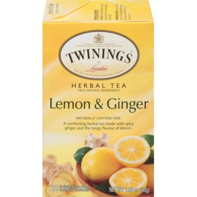 Twinings of London Lemon and Ginger Herbal Tea