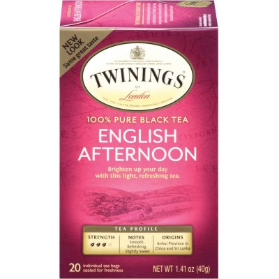 Twinings of London English Afternoon Classic Tea